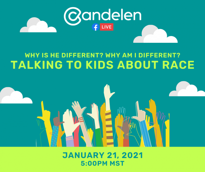 Talking to Kids About Race - Social Media Graphic